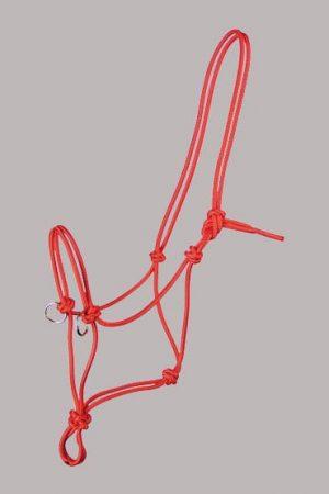 Knotenhalfter mit Ringen
