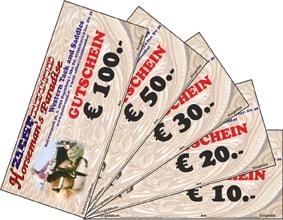 Geschenkgutschein Reitsport 50€